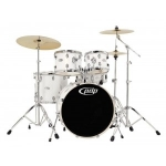 PDP by DW Mainstage White Chrome